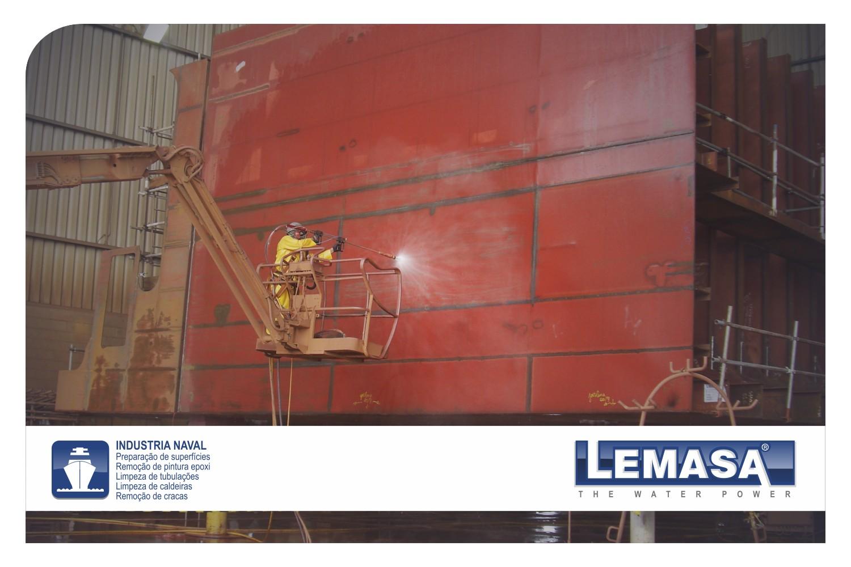 Bombas de alta presión (waterjetting) para Industria Naval