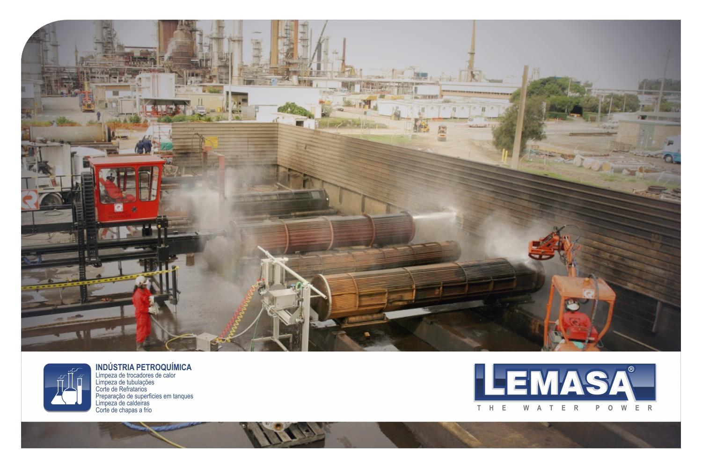 Bombas de alta presión (waterjetting) para Industria Petroquímica