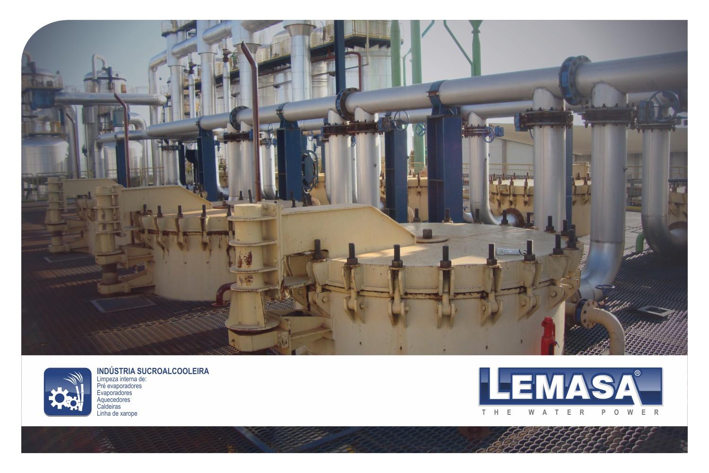 Bombas de alta presión (waterjetting) para Industria Azucarera